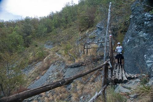 Passaggio di legno
