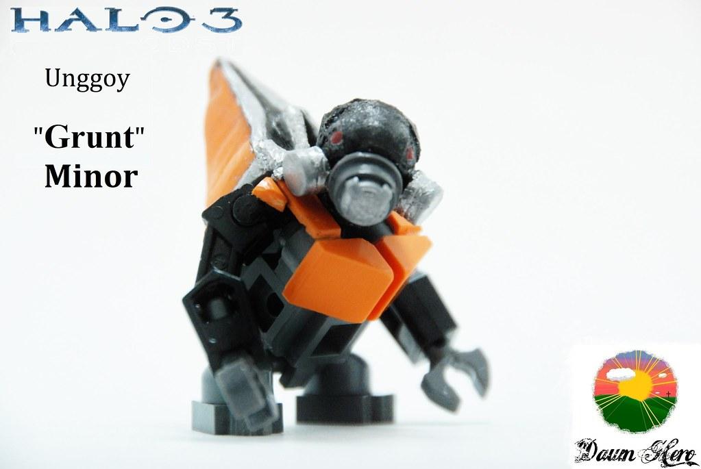LEGO Halo 3 - Grunt Minor | My custom Lego Grunt Minor as se