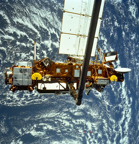 NASA's Upper Atmosphere Research Satellite, or UARS, is expected to re-enter Earth's atmosphere late September   by NASA Goddard Photo and Video