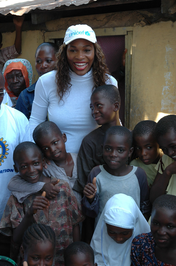 Serena Williams, Embajadora de UNICEF | Tennis World ...