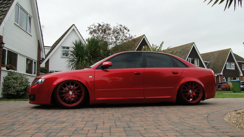 Audi B6 A4 On Red Rotiform Rims St4rk3y Flickr