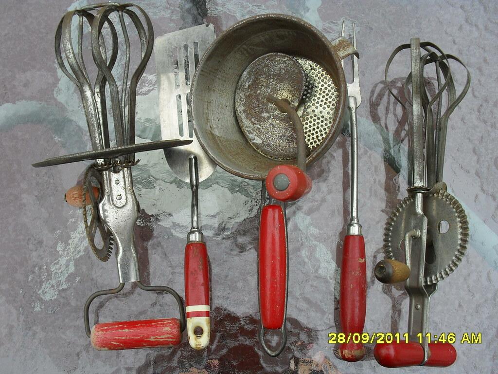 Red Handled Kitchen Utensils | Jill | Flickr
