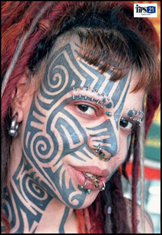 Weird Tattoo Photos Crazy Tattoos 10 Nice Detail Tattoo