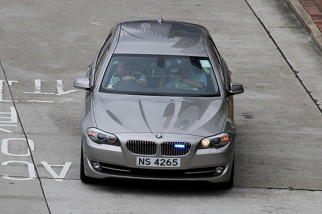 BMW, F11, Hong Kong Police Force, Kowloon, Hong Kong
