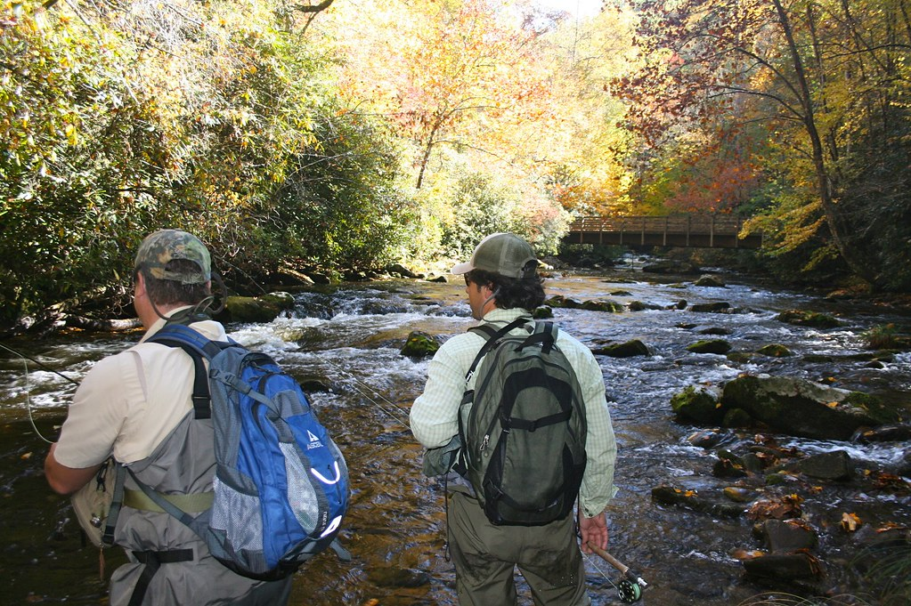 Fishing for Trout in Deep Creek and Indian Creek Near ...