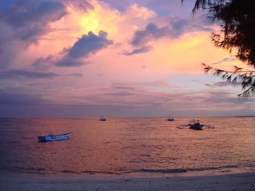 cebu malapascua sunsetphoto bountybeachmalapascua
