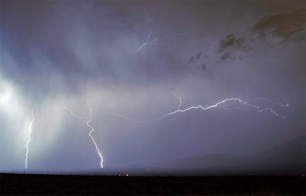 Lightning over Vegas