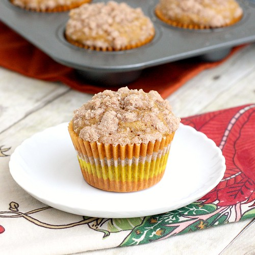 Pumpkin Cream Cheese Muffins | by Tracey's Culinary Adventures