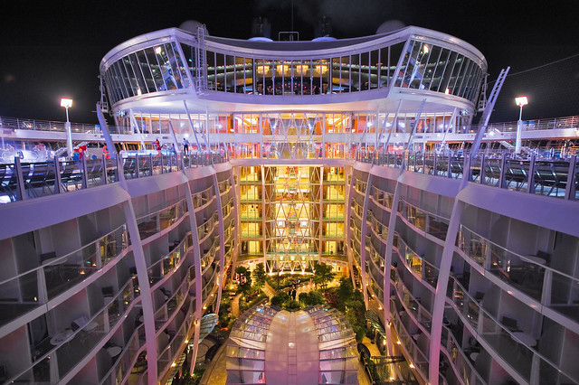 Allure of the Seas - bow