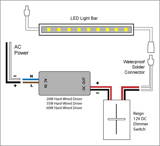 reign 12v led dimmer switch wiring diagrams elemental led flickr Led On Off Switch reign 12v led dimmer switch wiring diagrams by elemental led