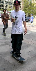 Urban Skateboarder