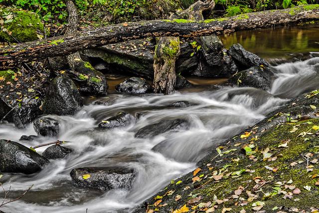 Autumn waterfall - 1