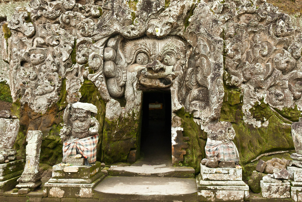 Entrance to Goa Gajah (Elephant Cave)