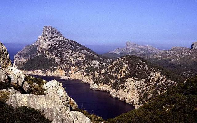 The coast towards Cap Formentor  - Mallorca