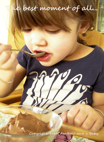 Aditi eating the Chocolate Coffee Icecream | by MichellePetersJones