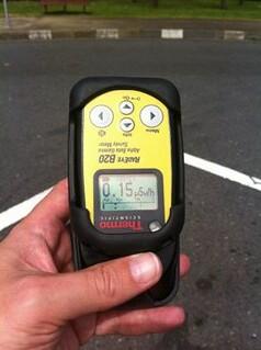 #Safecast Probe 0001 Japan ibaraki Taino 0.15usv/hr