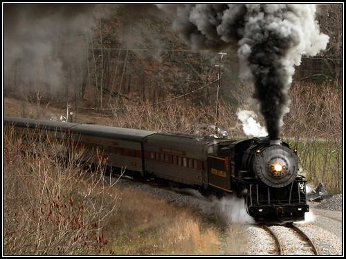 railroad train maryland cumberland frostburg wmsr engine734
