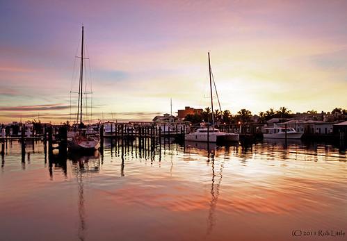 west sunrise boats dawn key florida yachts keywest bight