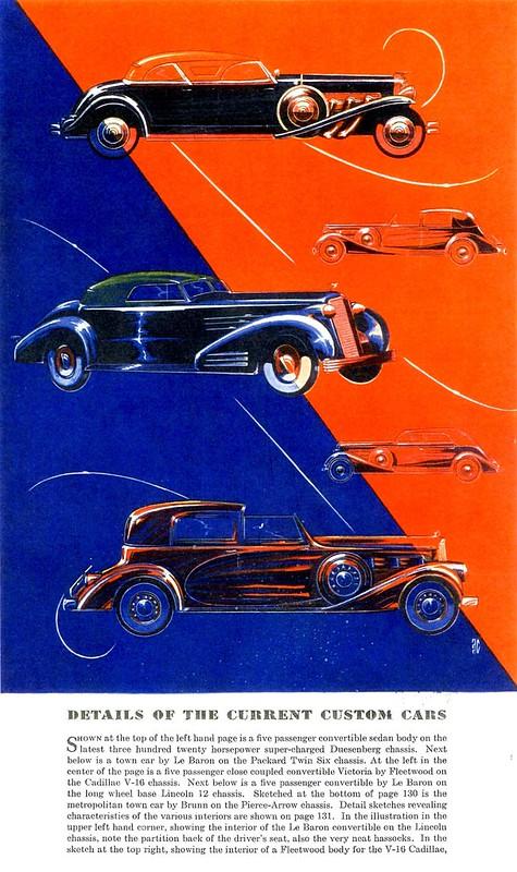 Alexis de Sakhnoffsky Sketches, 1935, Esquire, July 1935