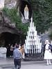 Lourdes – jeskyně zjevení, foto: Irka Chlopczykova