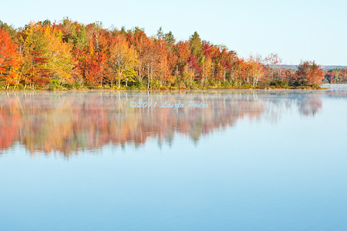 morning autumn lake canada fall water sunrise novascotia getty fallriver kinsaclake gettyimagescanada