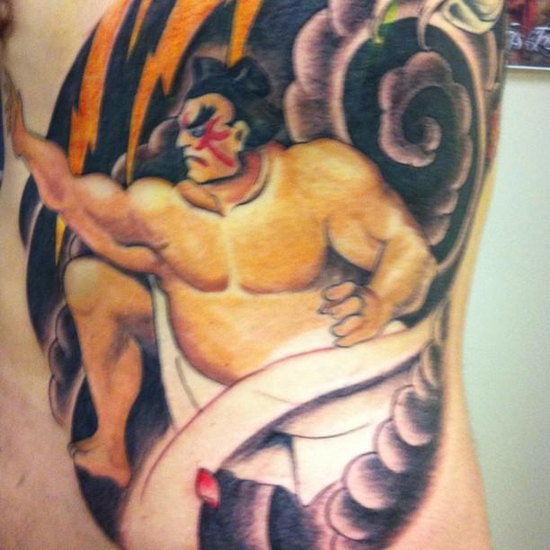 2nd Session Honda Streetfighter Street Fighter Tatto Flickr