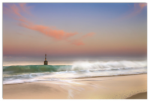 pink beach water clouds waves bell pastel australia wa westernaustralia cottesloebell