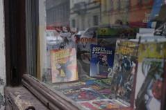 comic book store, Praha