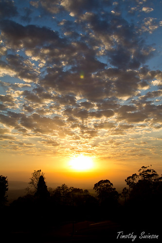 clouds sunrise spectacular golden australia queensland toowoomba canon60d