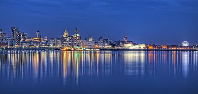 Liverpool Waterfront @Night