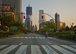 Summer on the West Side Highway, Manhattan, NYC | by bozer★