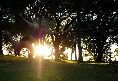 trees sunset sunlight rachael dance samhouston