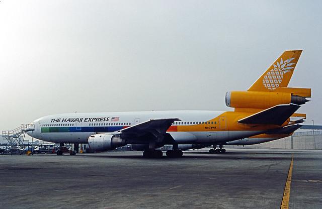 Hawaii Express, McDonnell Douglas DC-10-10