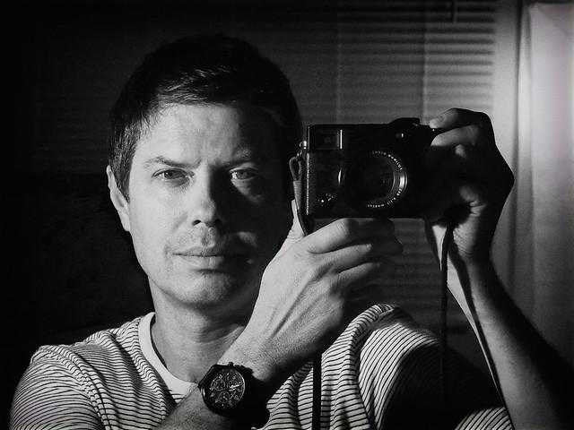 mirror self portrait, age 47