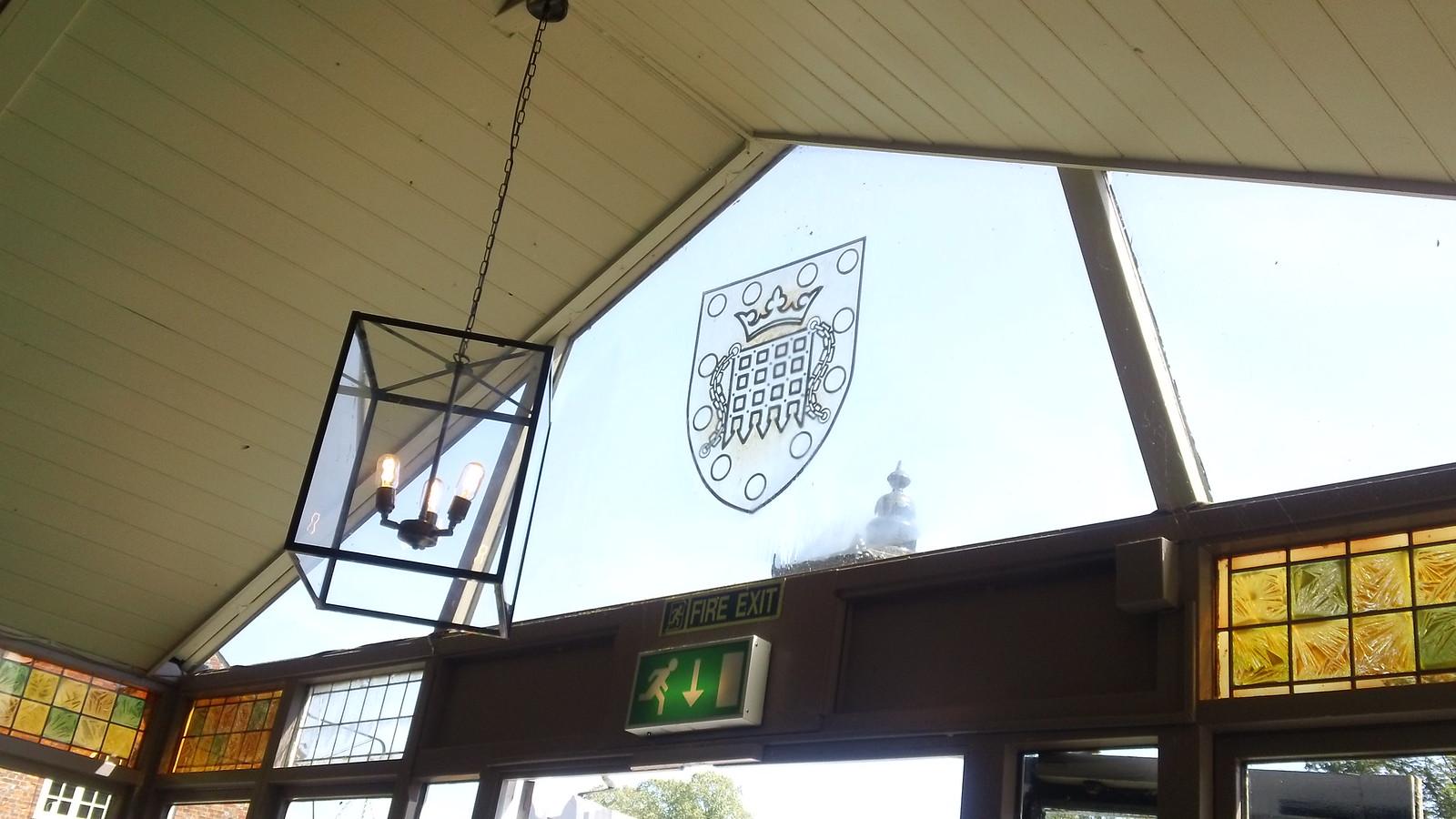 Boat House inn ceiling & window Wallingford, Oxon