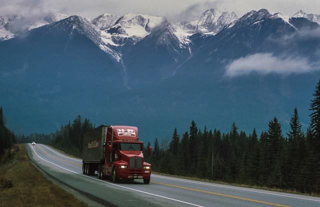 Traversing the Rockies
