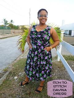 Itch to Stitch Davina Dress | by abbeydabbles