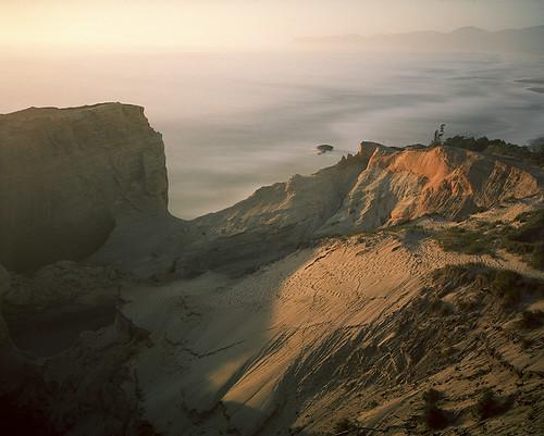 film analog landscape pacificocean pacificnorthwest oregoncoast goldenhour capekiwanda pentax6x7 filmisnotdead kodakektar100