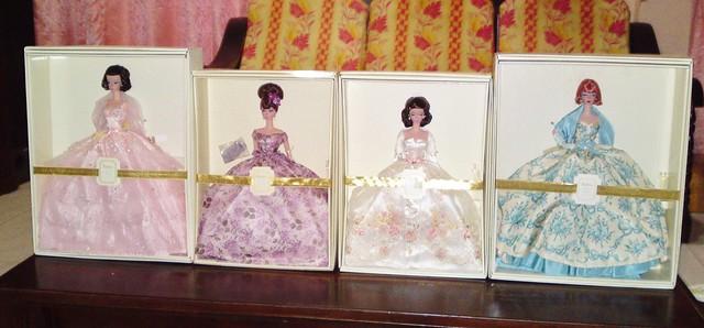 The Divine Four Silkstone Barbie Dolls