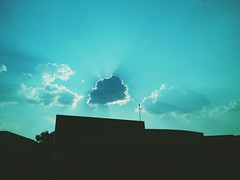 Nesse calor.... Qualquer nuvem é bem vinda!