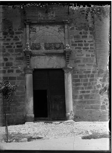 Palacio de Fuensalida en Toledo hacia 1920. Fotografía de Enrique Guinea Maquíbar © Archivo Municipal de Vitoria-Gasteiz