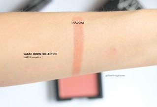 NARS Sarah Moon Blush Isadora swatch | by <Nikki P.>