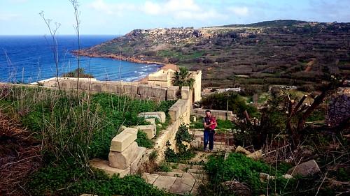 2016 - Europe - Gozo - Beach Day - Hike View   by SeeJulesTravel