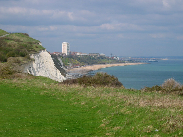 Approaching Eastbourne