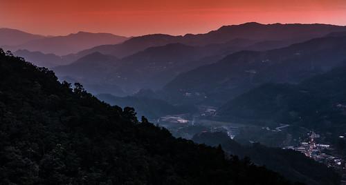 taiwan newtaipeicity pinglin nightfall sunset 台灣 坪林 日暮