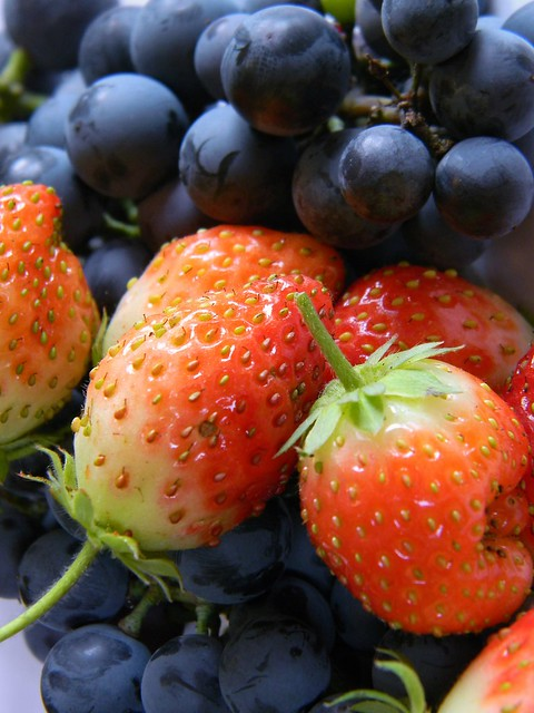 Raw Wine and Berries