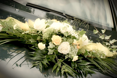 Wedding car decoration | by ps50mm
