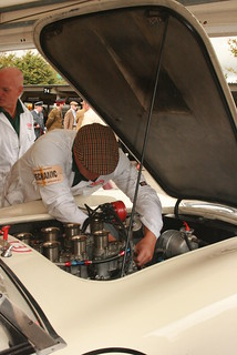 Mechanic fettling an Aston | by Supermac1961