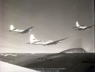 B-17's fling on mission to Dusiberg Germany 28 January 1945 | by John Funk from Golden Colorado