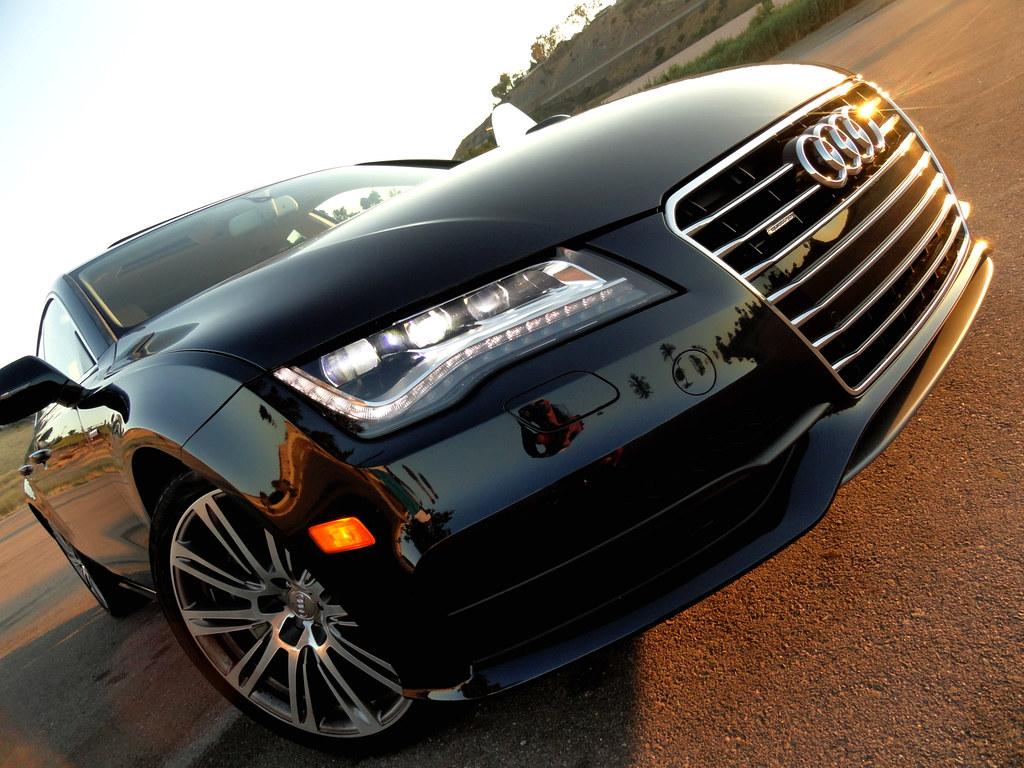 2012 Audi A7 Led Daytime Headlights Maria Palma Flickr